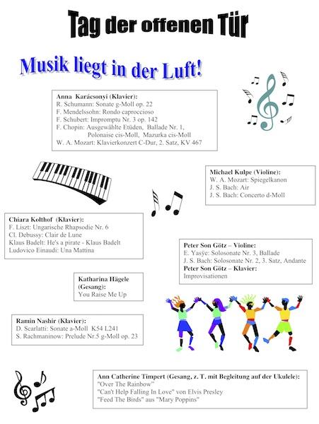"""Programm von """"Musik liegt in der Luft"""""""